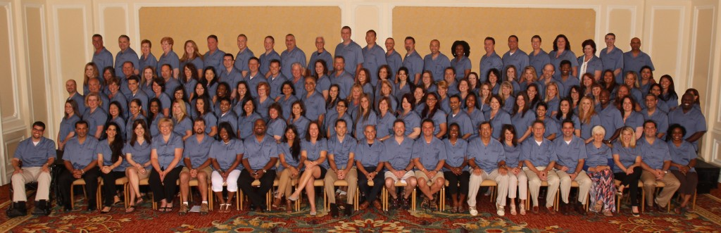 Group photo of franchisees and staff at Kiddie Academy Annual Conference 2015