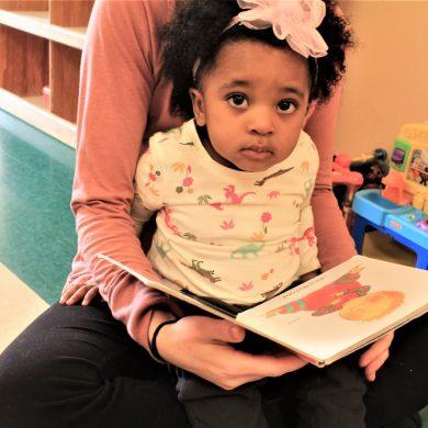 KAUF Toddler Reading with Teacher