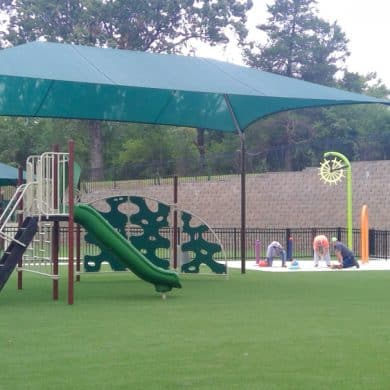 1 Playground Kiddie Academy of Little Rock