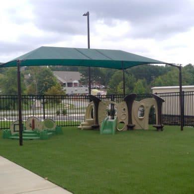 3 Playground Kiddie Academy of Little Rock