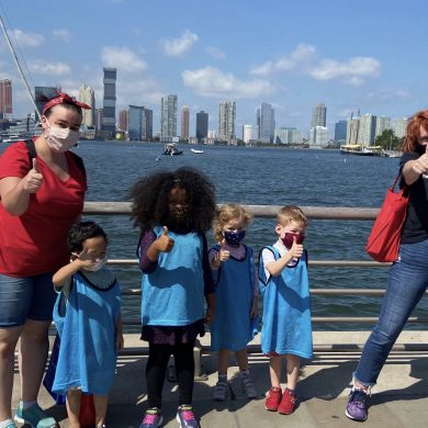 There is no better way to spend a beautiful day than with a field trip to Pier 25!