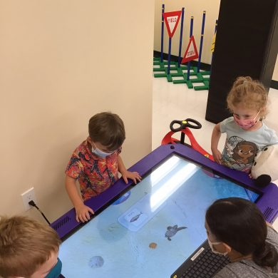 The only technology we use at Kiddie Academy is technology that encourages collaboration and cooperation!