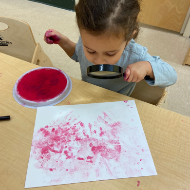 Our fingerprints are all so unique we needed to get a closer look at them!