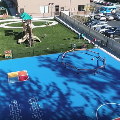 Largest child care playground in Clark County