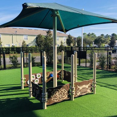 Awesome playground for our infants and toddlers!