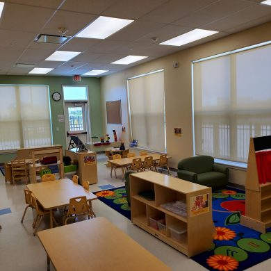 Our 4yr old classroom has endless possibilities for learning.