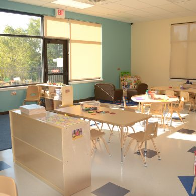 Very Specious 5 year old classroom with lots of activities to keep them busy