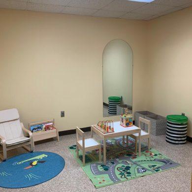 playroom temp office