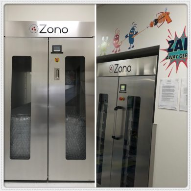 Our ZONO sanitizing and disinfecting cabinet has arrived!!!  What it is? It is THE ULTIMATE SANITIZING AND DISINFECTING CABINET  The ZONO system uses ozone to safely kill 99.9% of common bacteria* like Staph and E. Coli and 99.99% of common viruses+ like Norovirus (disinfecting level). One of nature's most powerful oxidizers, ozone has been used as an organic sanitizer since the early 1900's.  The ZONO system is a powerful sanitizer and disinfector for all surfaces. It sanitizes and disinfects items more safer and more effective than bleach or other chemicals. Place items like bedding, wood blocks, books, puzzle pieces, sleep mats, car seats, battery operated toys, keyboards, plush toys, and much more.  Unlike other sanitizing methods, the ZONO system is Eco friendly. It uses green technology that creates no harmful waste or discharge.  We will be utilizing the ZONO as one of the many way to help mitigate the spread of potential infection in our center. Visit our website or call to learn how you can save a spot for your child. (346)388-6600