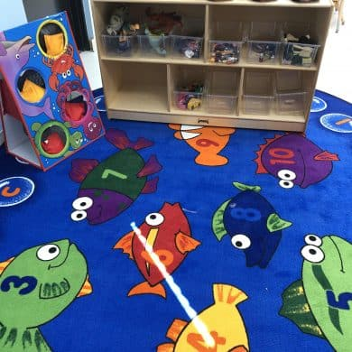 We're excited to announce that our state-of-the-art classrooms are now outfitted with furniture, toys, learning materials, books, and more!