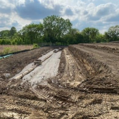 Officially broke ground!