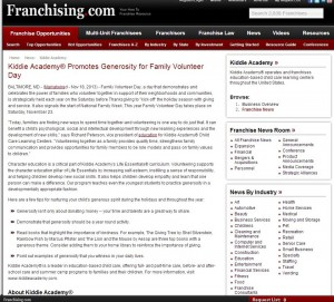 Franchising Volunteer blog pic