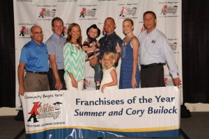 Cory and summer bullock Franchise of the Year