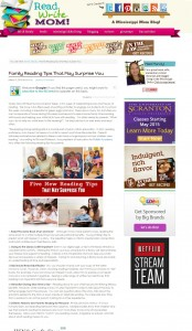 Family Reading Tips That May Surprise You Read. Write. Mom! - A Mississippi Mom Blog