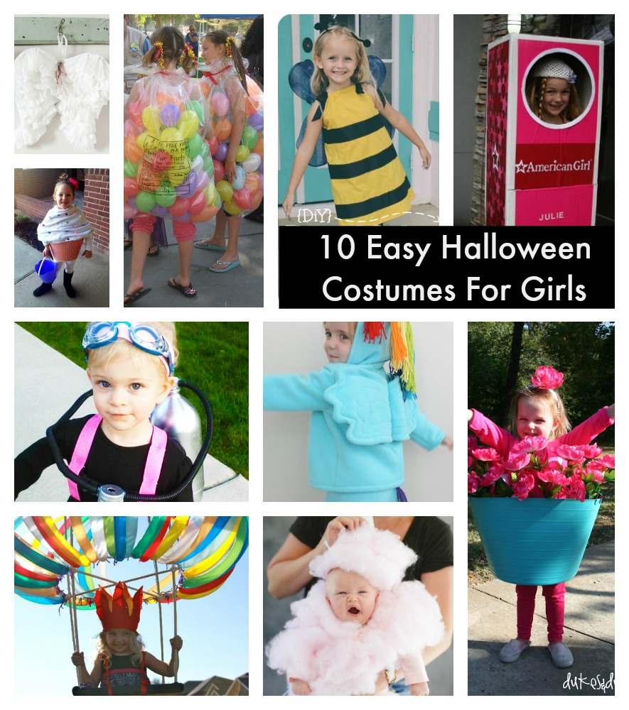 Easy Girls Halloween Costumes