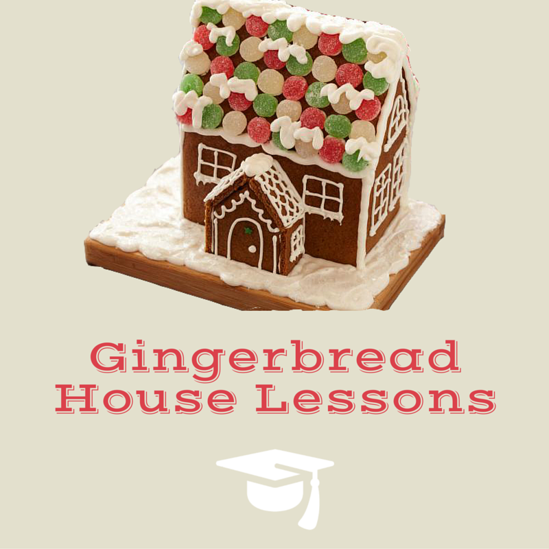 Gingerbread House Lessons
