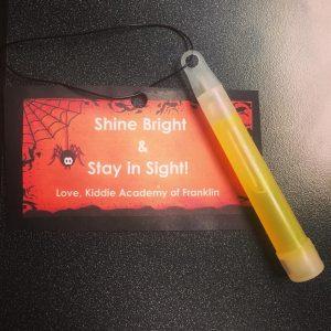 Kiddie academy of Franklin light stick