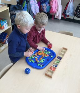 Pre-K sorting and counting