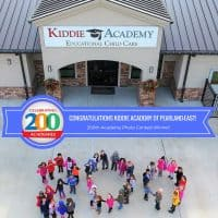 Kiddie Academy photo contest winner