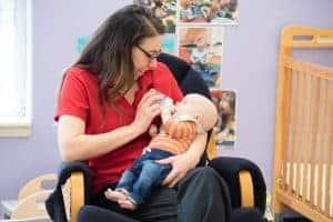 Angela Sigmon, Infant Teacher at Kiddie Academy of Abingdon