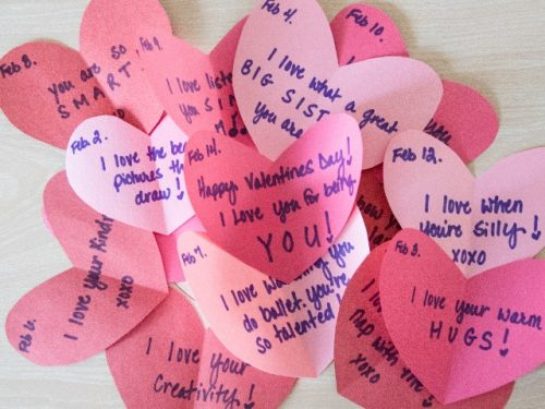 heart love notes
