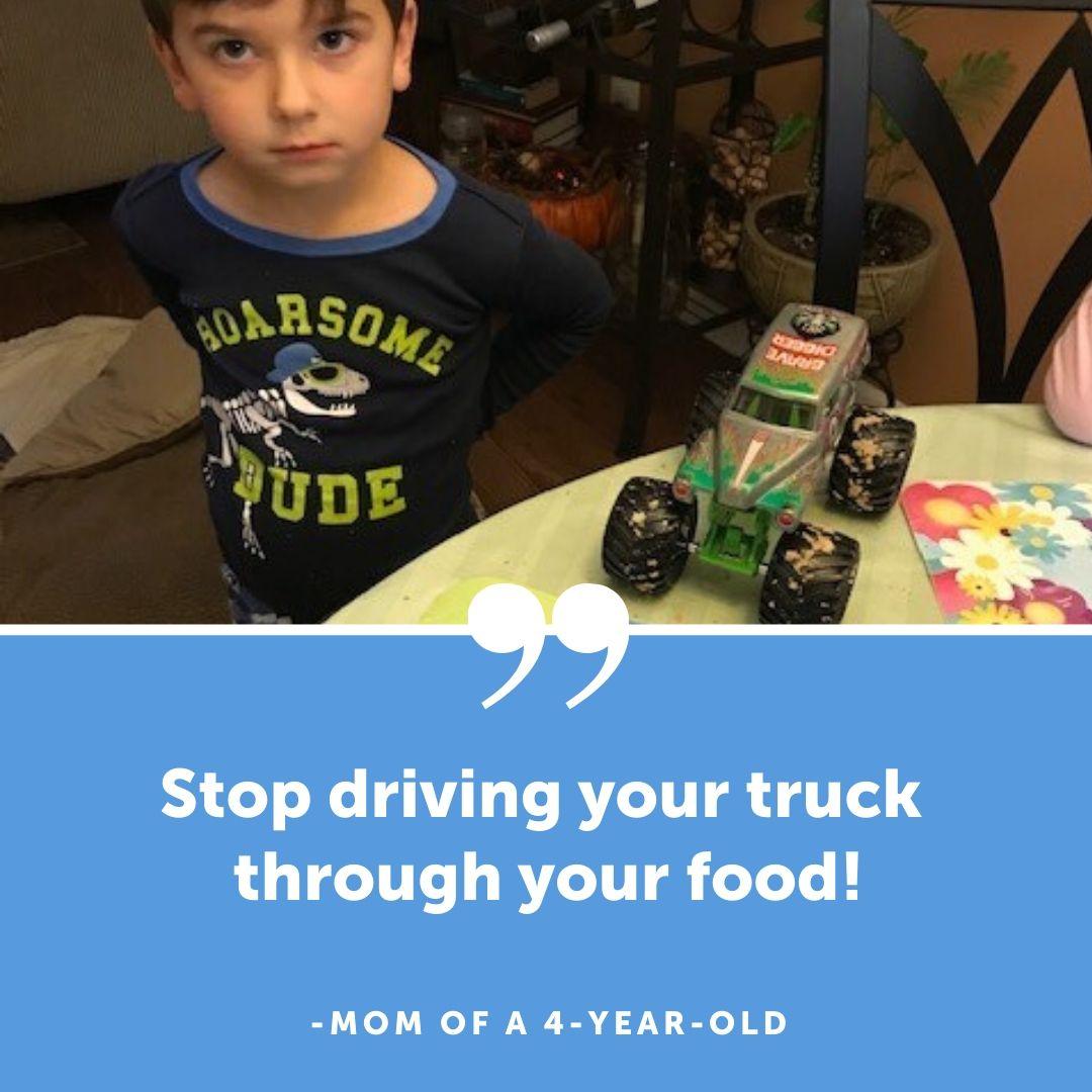 truck in food