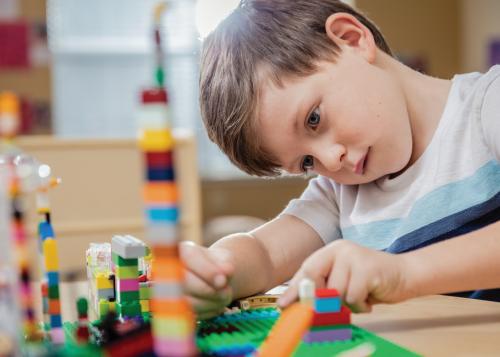 kiddie academy virtual learning space