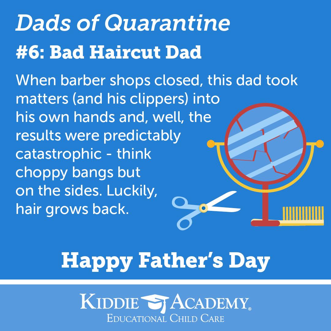 bad haircut dad