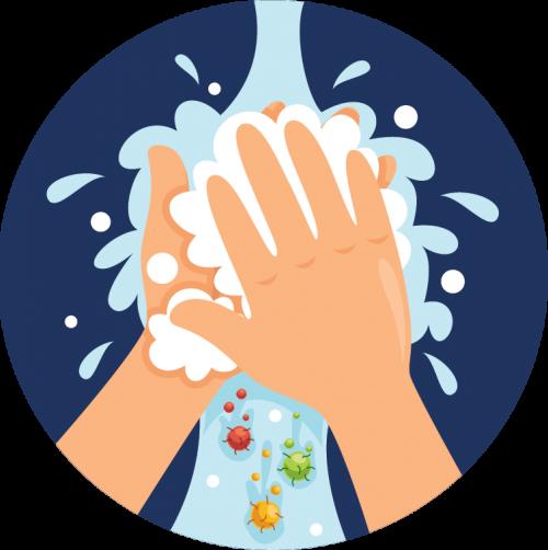 Enhanced hygiene is part of Health Essentials at Kiddie Academy Education Child Care