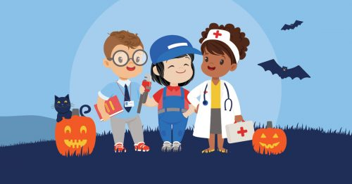 kiddie academy halloween heroes