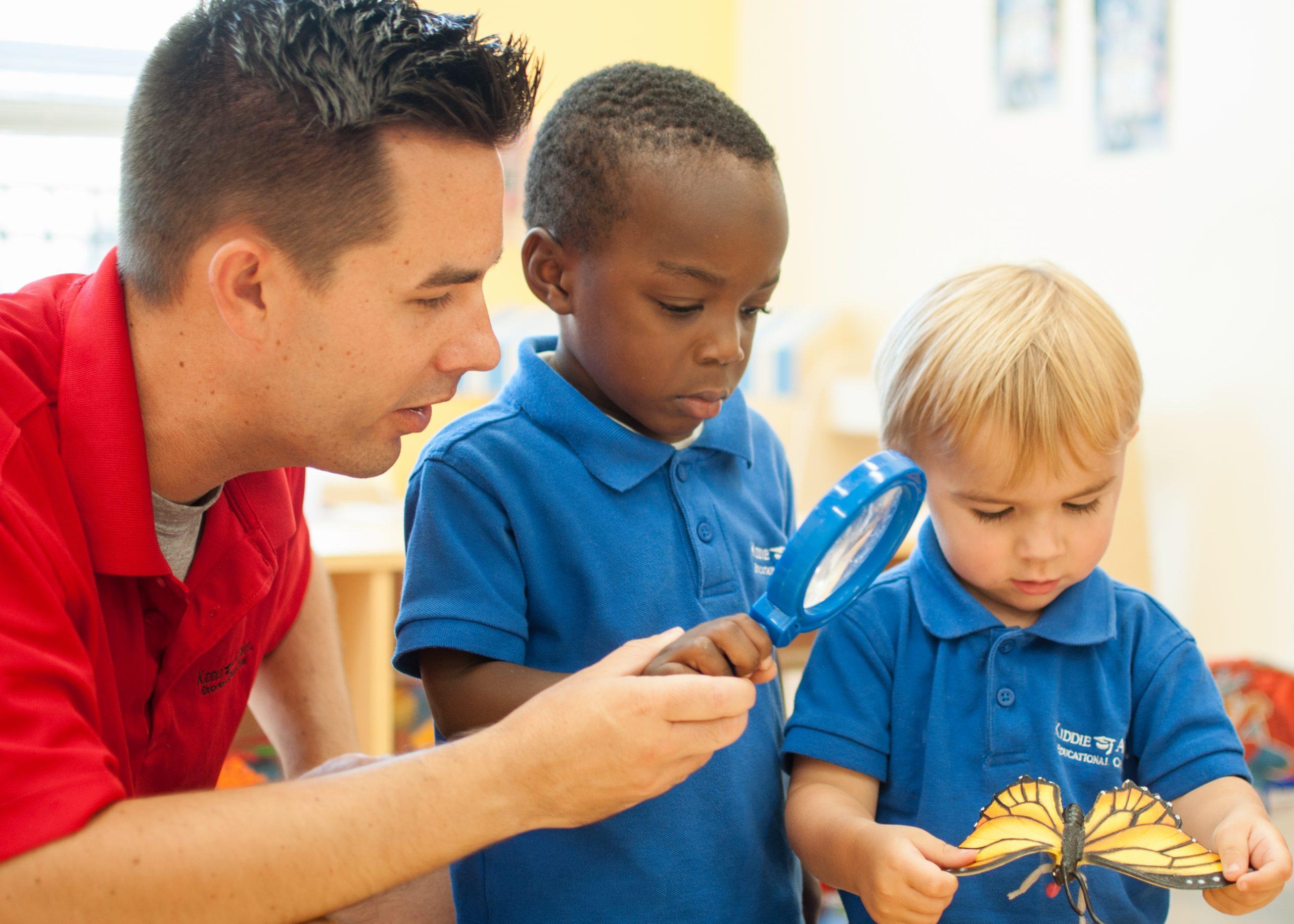 Kiddie Academy teacher