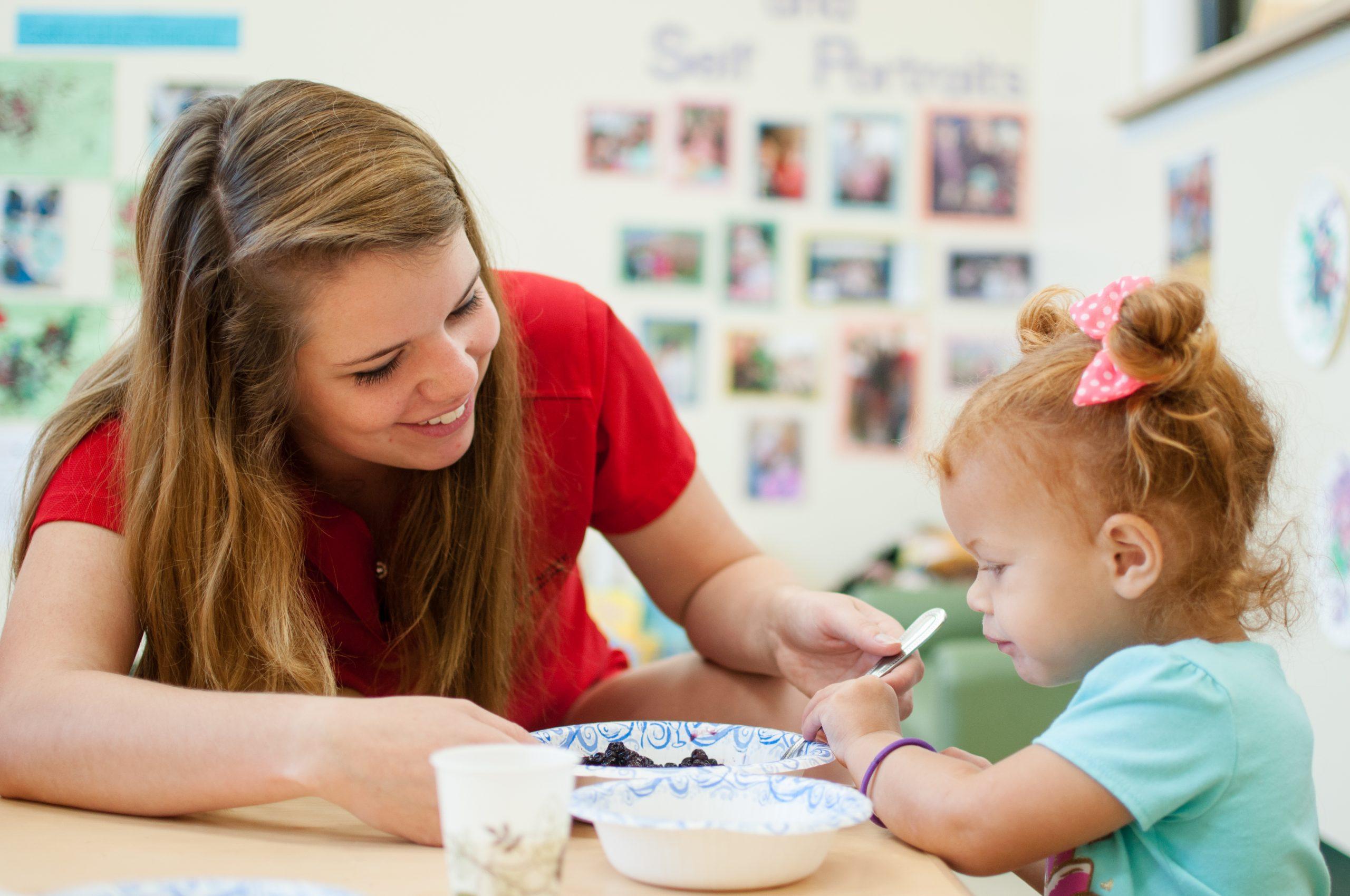 Kiddie Academy infant teacher