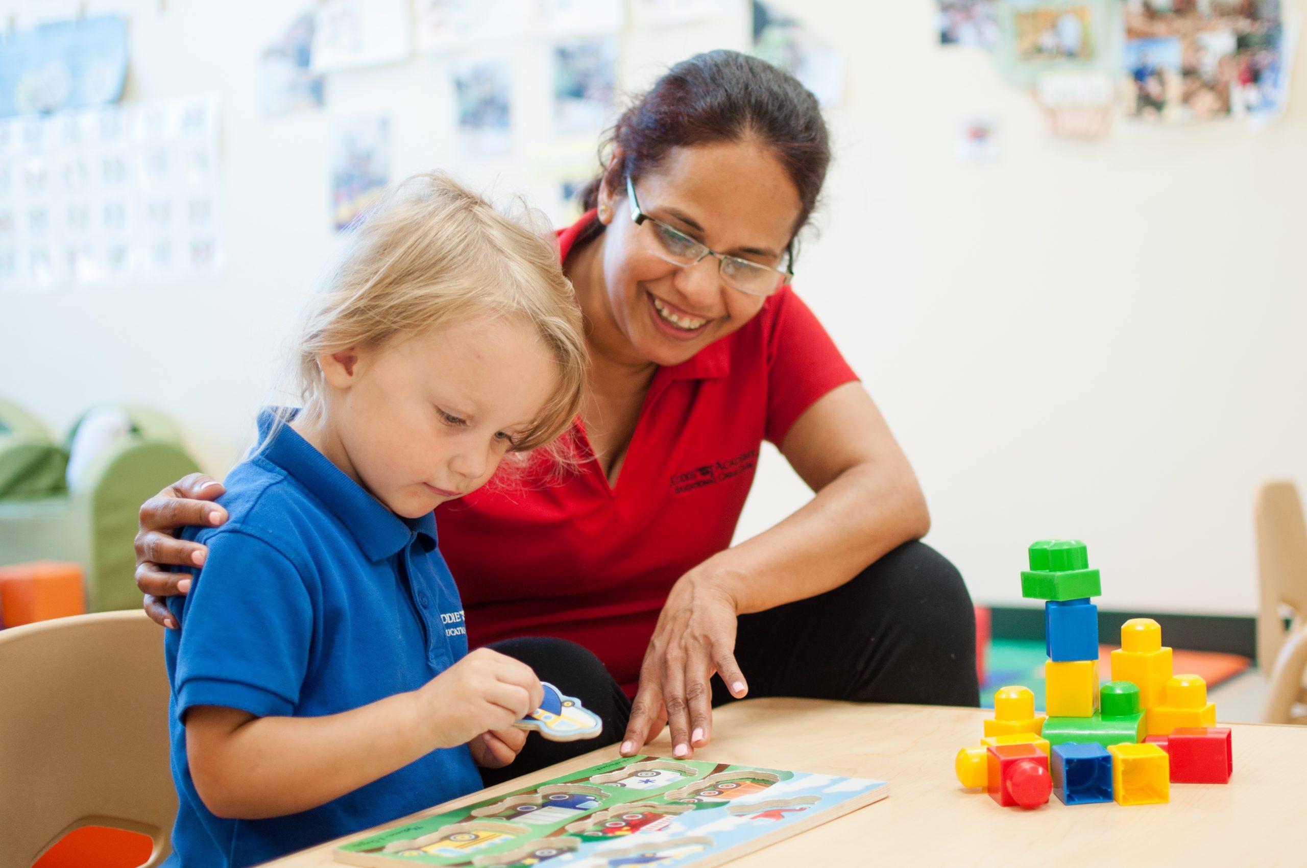 Kiddie Academy toddler teacher